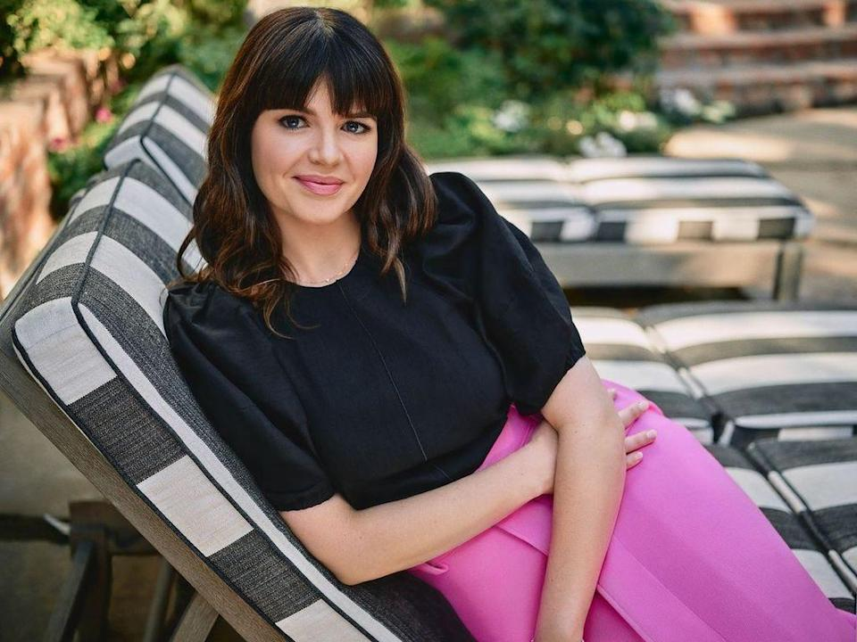 """Actress Casey Wilson has written a collection of essays, """"The Wreckage of My Presence."""""""