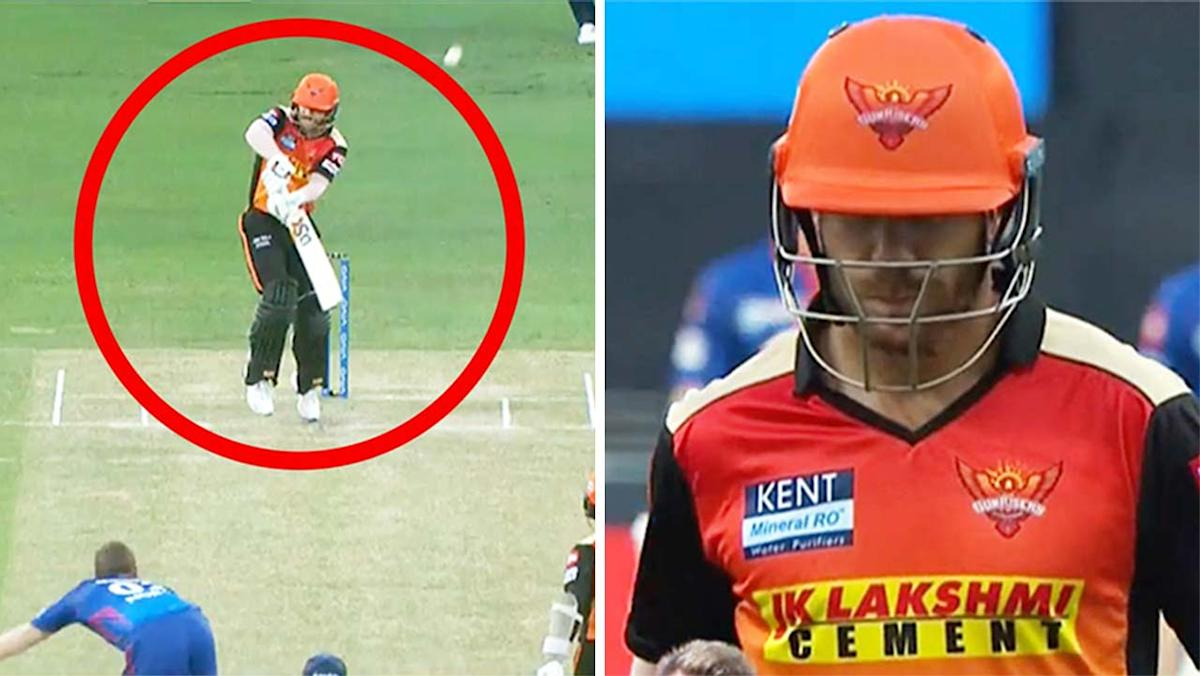 'He is finished': Fans' savage reaction to David Warner duck