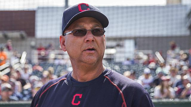 The Indians manager said Tuesday he didn't intentionally throw up his middle finger for the camera.