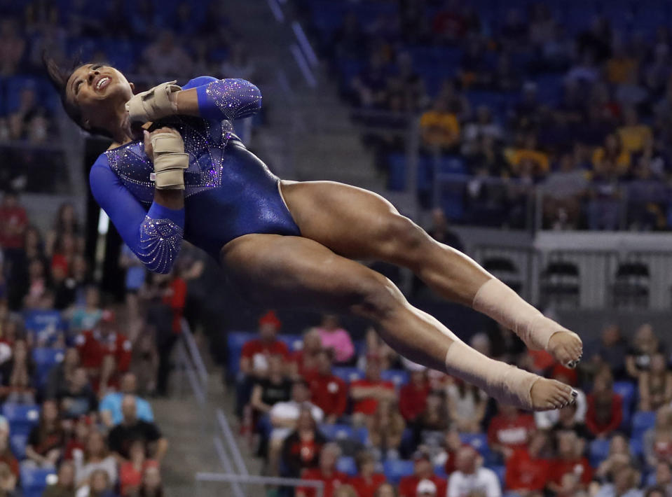 A former Team USA gymnast filed a new lawsuit on Wednesday alleging that former team doctor Larry Nassar sexually abused her multiple times and is one of the reasons she didn't make the Olympic team. (AP Photo/Jeff Roberson)