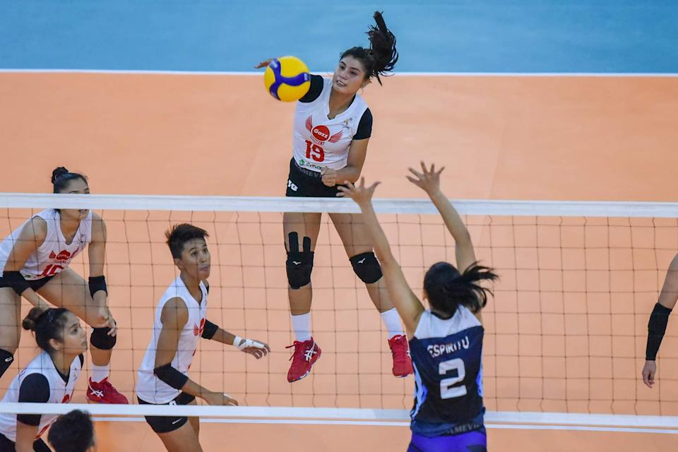 Myla Pablo helps Petro Gazz sweep BaliPure in the 2021 Premier Volleyball League (PVL) Open Conference. (Photo: PVL Media Bureau)