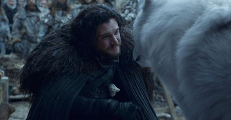 "Things were just a lot simpler when Jon knew nothing. <br /><br /> Jon revealing the truth of his parentage to Daenerys, that his father and mother are really Rhaegar Targaryen and Lyanna Stark, and that he's the heir to the Iron Throne, was one of the catalysts that drove the Mother of Dragons to burn King's Landing. <br /><br /> After he became the Queenslayer, Jon was eventually sent to the Wall as punishment. There, he was reunited with Tormund (Kristofer Hivju) and finally (finally) petted Ghost.&nbsp;<br /> <br /> Tormund seemed to foreshadow this would be the outcome for Jon in Episode 4 when he told him he has the ""real North"" in him, and Jon talked about wanting to go North with the Wildings. Well, you got your wish, bud. Hope it works out for you. <br /><br /> The final shot is Jon traveling with the Wildlings, possibly going the route of ""Dexter"" and becoming a lumberjack beyond the Wall."