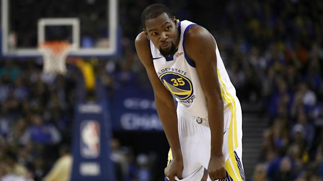 Kevin Durant is rumoured to be considering signing with the New York Knicks in free agency and Steve Kerr addressed the player's silence.