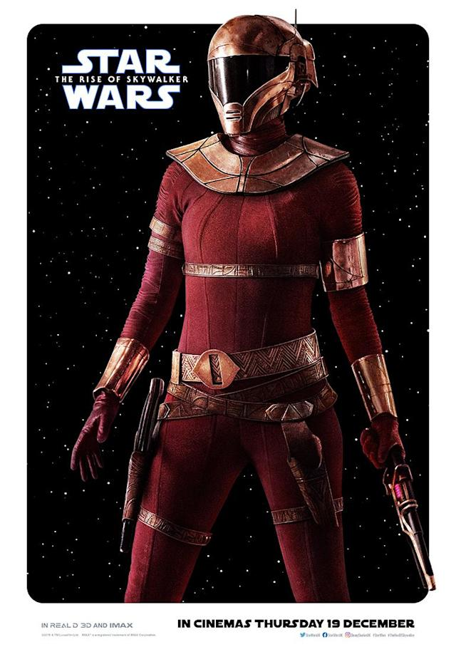 Kerri Rusell's new character is a scoundrel native to the frigid planet Kijimi. (Disney)