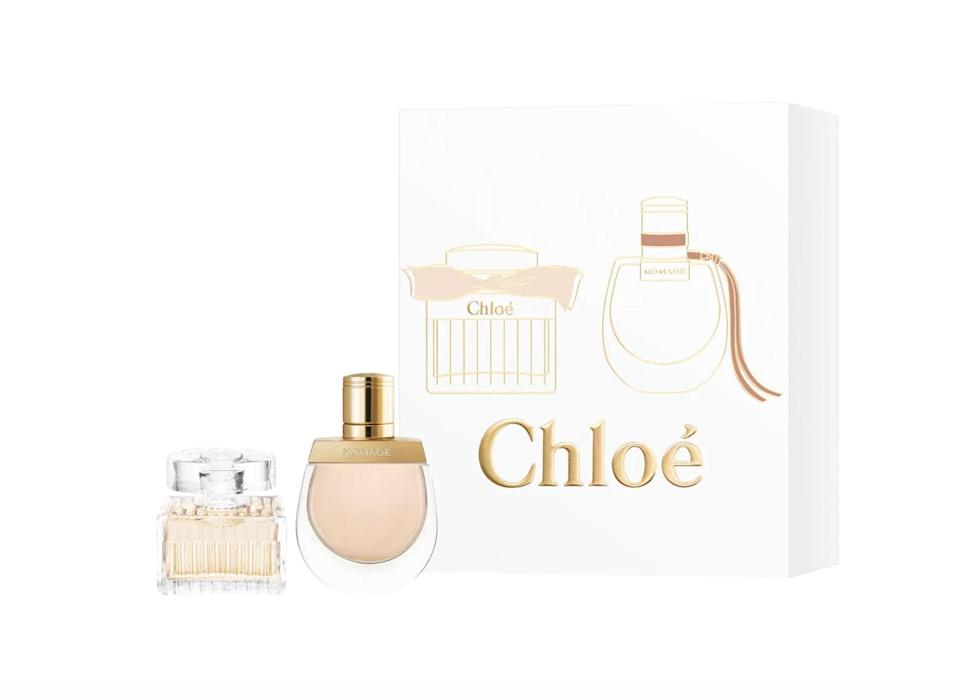 <p>Treat your BFF to this special <span>Chloé Deluxe Mini Duo Set</span> ($29).</p>
