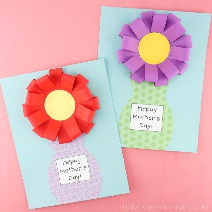 """<p>Turn a flower card into a 3D one that incorporates pop-up petals. It's surprisingly easy to make!</p><p><strong>Get the tutorial at <a href=""""https://iheartcraftythings.com/mothers-day-flower-vase-craft.html"""" rel=""""nofollow noopener"""" target=""""_blank"""" data-ylk=""""slk:I Heart Crafty Things"""" class=""""link rapid-noclick-resp"""">I Heart Crafty Things</a>.</strong></p><p><a class=""""link rapid-noclick-resp"""" href=""""https://www.amazon.com/Envelopes-Invitation-Graffiti-Birthday-Supplies/dp/B07KZB8SD4?tag=syn-yahoo-20&ascsubtag=%5Bartid%7C2164.g.35668391%5Bsrc%7Cyahoo-us"""" rel=""""nofollow noopener"""" target=""""_blank"""" data-ylk=""""slk:SHOP BLANK GREETING CARDS"""">SHOP BLANK GREETING CARDS</a></p>"""