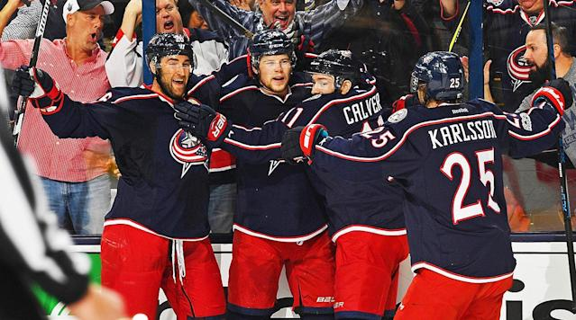 The Columbus Blue Jackets live to play another night.