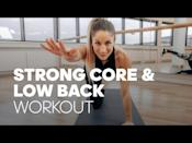 """<p>There's not much we love more than an efficient workout and this lower back and core strengthening session is just that. Reduce back pain and build posture-improving strength. </p><p><strong>Equipment: </strong>Exercise mat or soft surface</p><p><strong>How long? </strong>7 minutes<strong><br></strong></p><p><a href=""""https://www.youtube.com/watch?v=zRPQoMfs77A&ab_channel=adidasRuntastic"""" rel=""""nofollow noopener"""" target=""""_blank"""" data-ylk=""""slk:See the original post on Youtube"""" class=""""link rapid-noclick-resp"""">See the original post on Youtube</a></p>"""