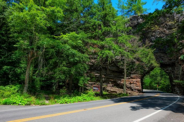 Located in southwestern Virginia, Bristol puts families near outdoor destinations like Cherokee National Forest  (pictured here) and the Appalachian Trail.