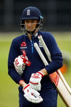Cricket - England Nets - Brightside Ground, Bristol, Britain - September 23, 2017 England's Joe Root during nets Action Images via Reuters/Peter Cziborra/Files