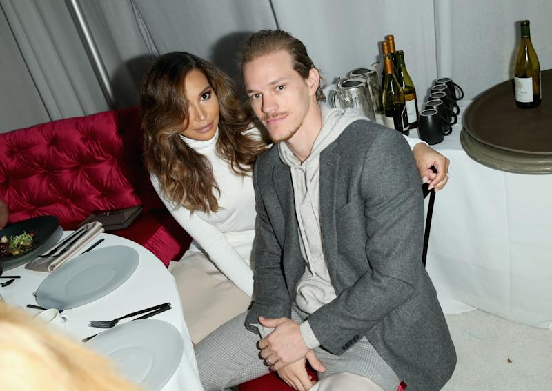 BEVERLY HILLS, CA - DECEMBER 04: Actors Naya Rivera (L) and Ryan Dorsey attend the March Of Dimes Celebration Of Babies Luncheon honoring Jessica Alba at the Beverly Wilshire Four Seasons Hotel on December 4, 2015 in Beverly Hills, California. (Photo by Joe Scarnici/Getty Images for March Of Dimes)