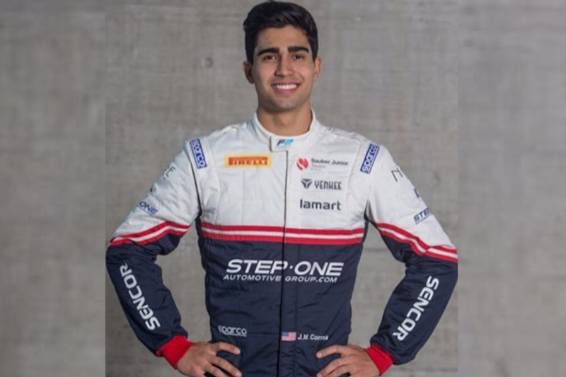 Formula Two Racer Correa Removed from Coma but Facing Major Surgery