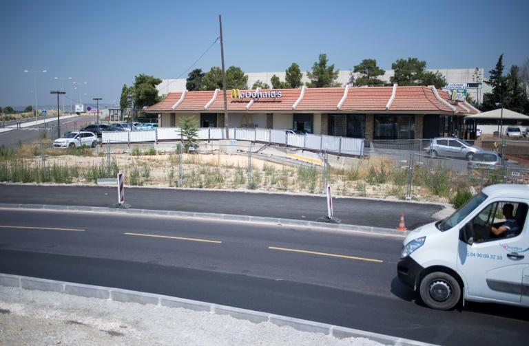 The McDonald's restaurant in a northern Marseille neighbourhood that campaigners have been trying to save