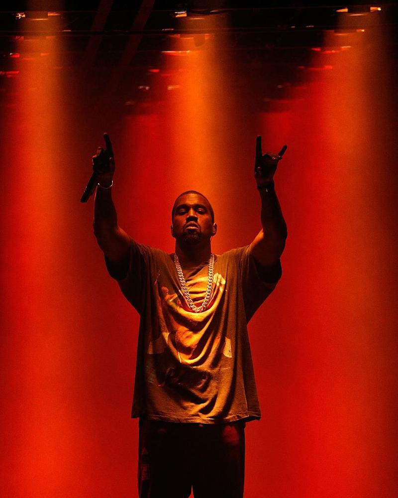 Kanye West's Sunday Church Service Is Too Loud for the LAPD