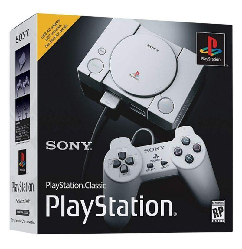 """<p><strong>Sony</strong></p><p>amazon.com</p><p><strong>$74.80</strong></p><p><a href=""""https://www.amazon.com/dp/B07L7W915H?tag=syn-yahoo-20&ascsubtag=%5Bartid%7C10054.g.22141607%5Bsrc%7Cyahoo-us"""" rel=""""nofollow noopener"""" target=""""_blank"""" data-ylk=""""slk:Buy"""" class=""""link rapid-noclick-resp"""">Buy</a></p><p>Throw it back to 1994—his best gaming year—with the PlayStation Classic console. It comes with classic titles like <em>Grand Theft Auto</em> and <em>Resident Evil.</em></p>"""