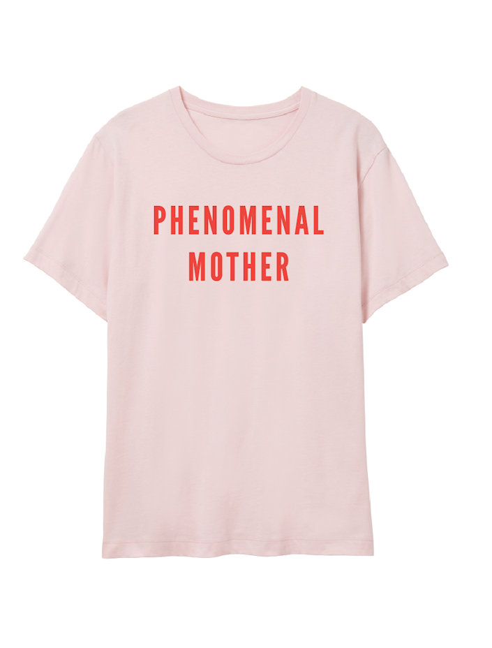 """<h2><a href=""""https://phenomenalwoman.us/collections/mother-collection-1/products/phenomenal-mother-t-shirt"""" rel=""""nofollow noopener"""" target=""""_blank"""" data-ylk=""""slk:Phenomenal Woman Action Campaign T-Shirt"""" class=""""link rapid-noclick-resp"""">Phenomenal Woman Action Campaign T-Shirt<br></a></h2><br>A 100% cotton t-shirt with a 100% sincere message to let your mother-in-law know just how admired she really is. You'll also supporting the critical work that's being done for women's rights on the ground by fearless organizations every day.<br><br><strong>Phenomenal Woman Action Campaign</strong> Phenomenal Mother T-Shirt, $, available at <a href=""""https://go.skimresources.com/?id=30283X879131&url=https%3A%2F%2Fphenomenalwoman.us%2Fcollections%2Fmother-collection-1%2Fproducts%2Fphenomenal-mother-t-shirt"""" rel=""""nofollow noopener"""" target=""""_blank"""" data-ylk=""""slk:Phenomenal Woman Action Campaign"""" class=""""link rapid-noclick-resp"""">Phenomenal Woman Action Campaign</a>"""