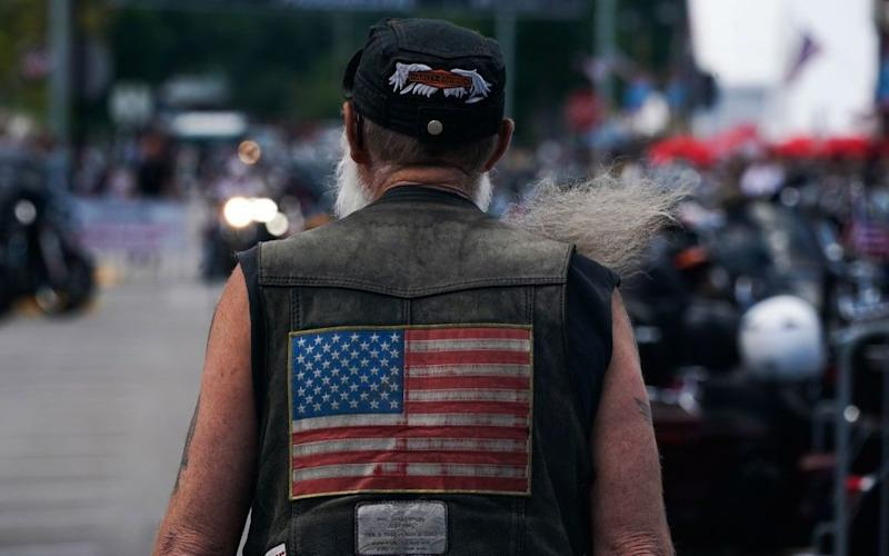 The Sturgis Motorcycle Rally has been a major talking point in America - Getty