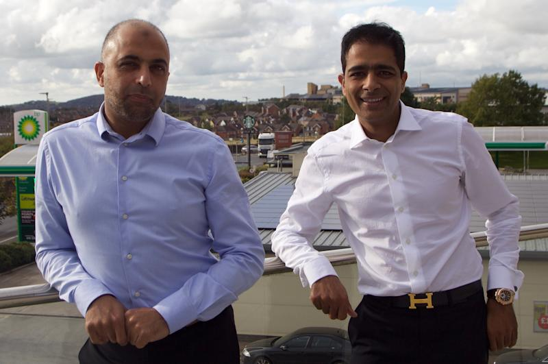 The Issa Brothers, Zuber, right, and Mohsin. Photo: EG Group