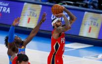 NBA: New Orleans Pelicans at Oklahoma City Thunder