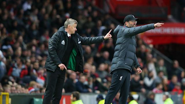 Liverpool are storming towards the Premier League title, though old rivals Manchester United will be determined to stall their progress.