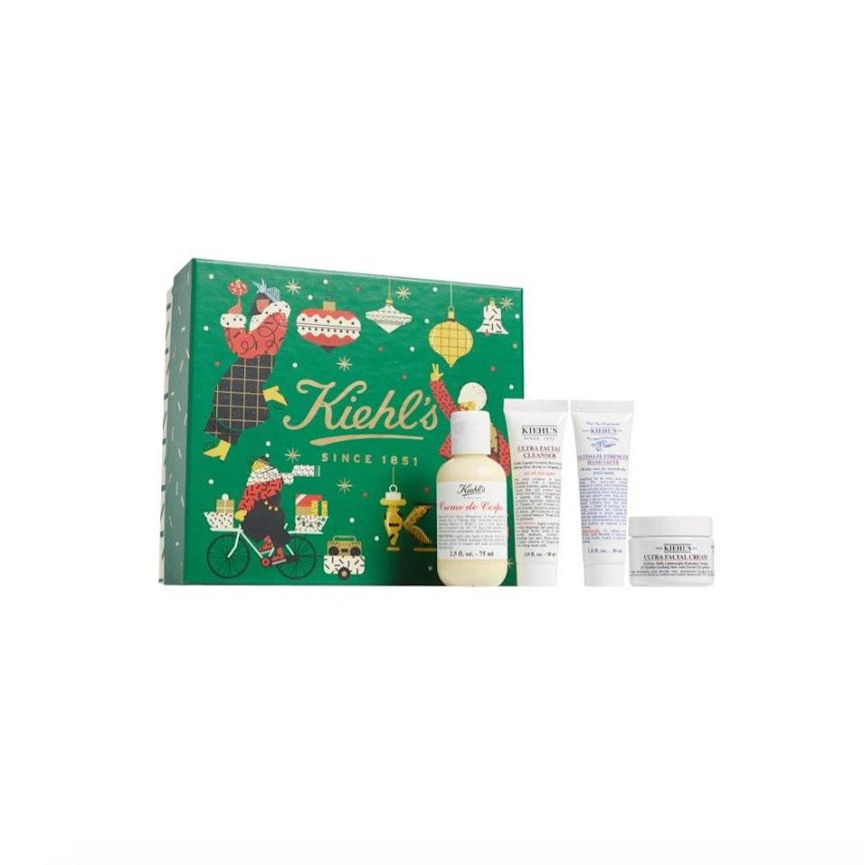 "$30, Nordstrom. <a href=""https://www.nordstrom.com/s/kiehls-since-1851-hydration-essentials-set-usd-47-value/5690370?origin=category-personalizedsort&breadcrumb=Home%2FSale%2FBeauty&color=none"" rel=""nofollow noopener"" target=""_blank"" data-ylk=""slk:Get it now!"" class=""link rapid-noclick-resp"">Get it now!</a>"