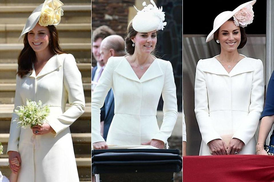 Kate Middleton Recycles Teal Gown from 2012