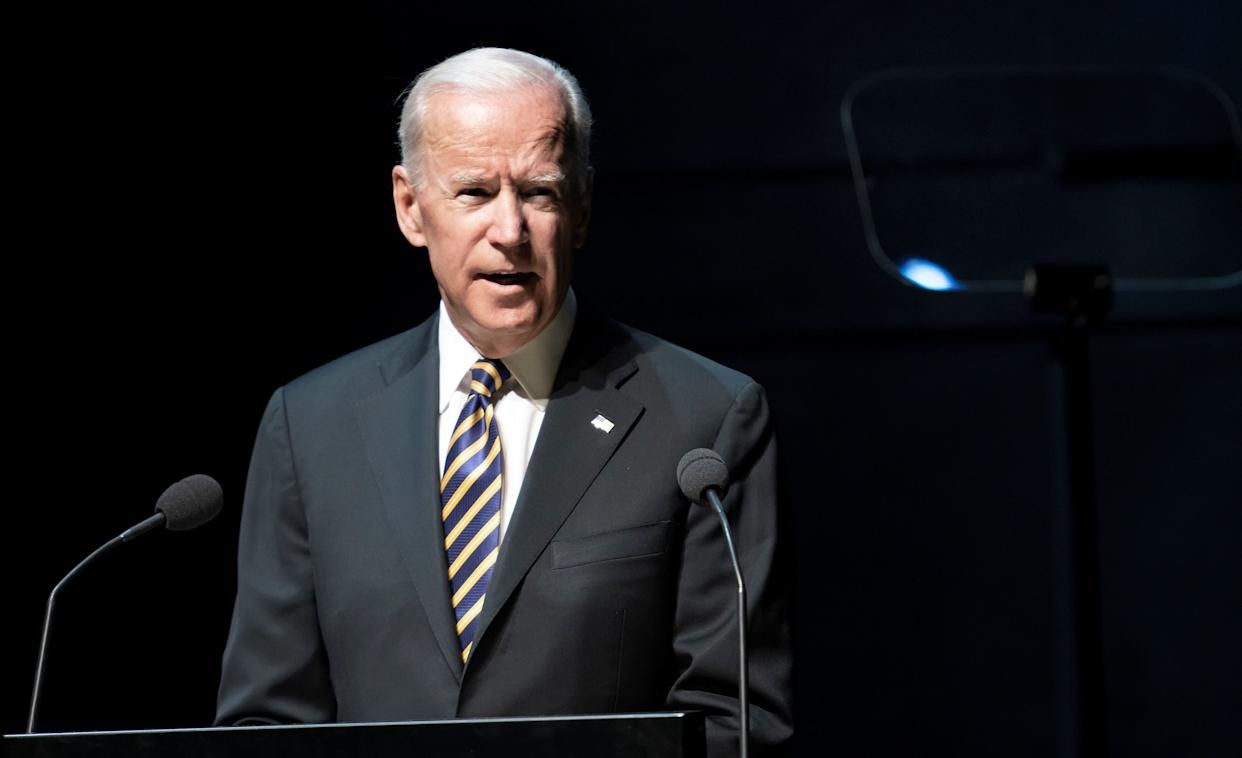 Joe Biden recalled the Anita Hill hearing as he weighed in on the sexual assault accusations facing Brett Kavanaugh. (Photo: Reuters)