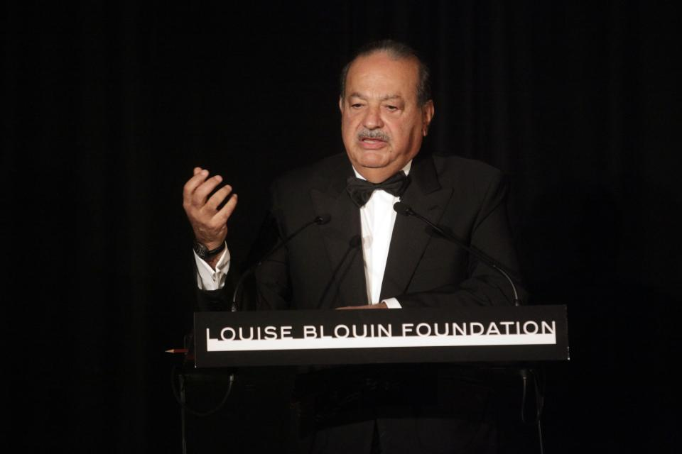 In 2010, <b> Carlos Slim Helu</b> passed Bill Gates on the billionaire list to become the richest man in the world, with an estimated net worth of $69 billion. He built his fortune in Mexico, where he owns over 200 companies including Telmex, the country's largest telephone service provider. He shares many frugal traits with Warren Buffett, including living in a modest home and eschewing computers.