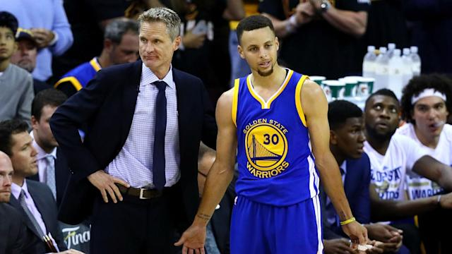 Curry is out for a couple of weeks with an ankle injury and the Warriors will get to see how they play without him.
