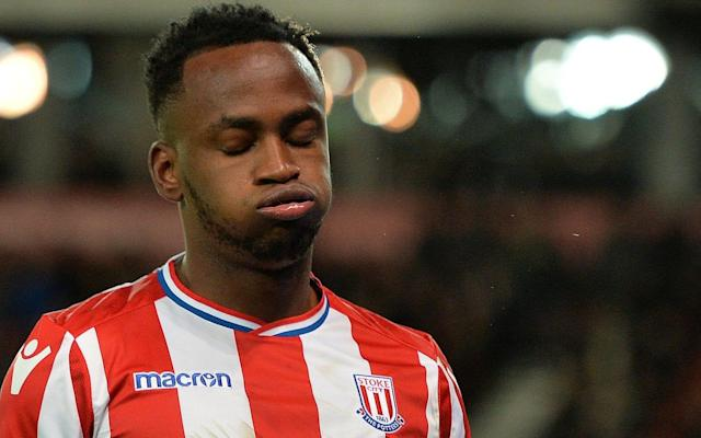 "Saido Berahino is poised for a return to the Stoke squad this weekend, with the £12 million striker under growing pressure to finally deliver. Berahino has not played for over a month due to fitness issues and been placed on a special training regime by manager Paul Lambert. It is understood that Berahino has been fined at least once in recent weeks for poor time-keeping, while his relationship with some Stoke players is said to be fractious. There is also a sense of exasperation in the Stoke boardroom over Berahino's recent problems, with the 24-year-old yet to score for the club since his move from West Brom in January 2017. He has also gone over two years since his last Premier League goal. But Lambert is considering a recall for Berahino as he prepares for the crucial game against Everton on Saturday, as Stoke bid to move out of the relegation zone. Stoke have only scored three goals in the last six games – all coming from winger Xherdan Shaqiri – and Lambert's attacking options have diminished further after an injury to Mame Diouf. Berahino is now in line to start on the bench against Everton as Lambert hands him the chance to revive his faltering career. He has not played since appearing as a substitute in the 1-1 draw with Brighton on Feb 10. Stoke are second bottom and one point adrift of safety ahead of the game against Everton. Kurt Zouma, the defender, said: ""We know we have some very big games still to come but we are close to moving out of the relegation zone. ""We haven't won too many games of late but we are playing a lot better than before, are tighter at the back and conceding a lot less goals. ""That should give us confidence and we need to use it as a platform to secure the wins we require starting with Everton at home this weekend."""