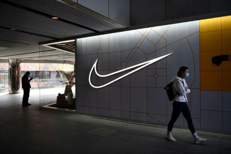 Two Chinese TV stars said they would end all promotional partnerships with Nike