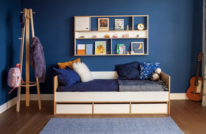 """$1000, Casa Kids. <a href=""""https://casakids.com/collections/beds/products/cabin-daybed"""" rel=""""nofollow noopener"""" target=""""_blank"""" data-ylk=""""slk:Get it now!"""" class=""""link rapid-noclick-resp"""">Get it now!</a>"""