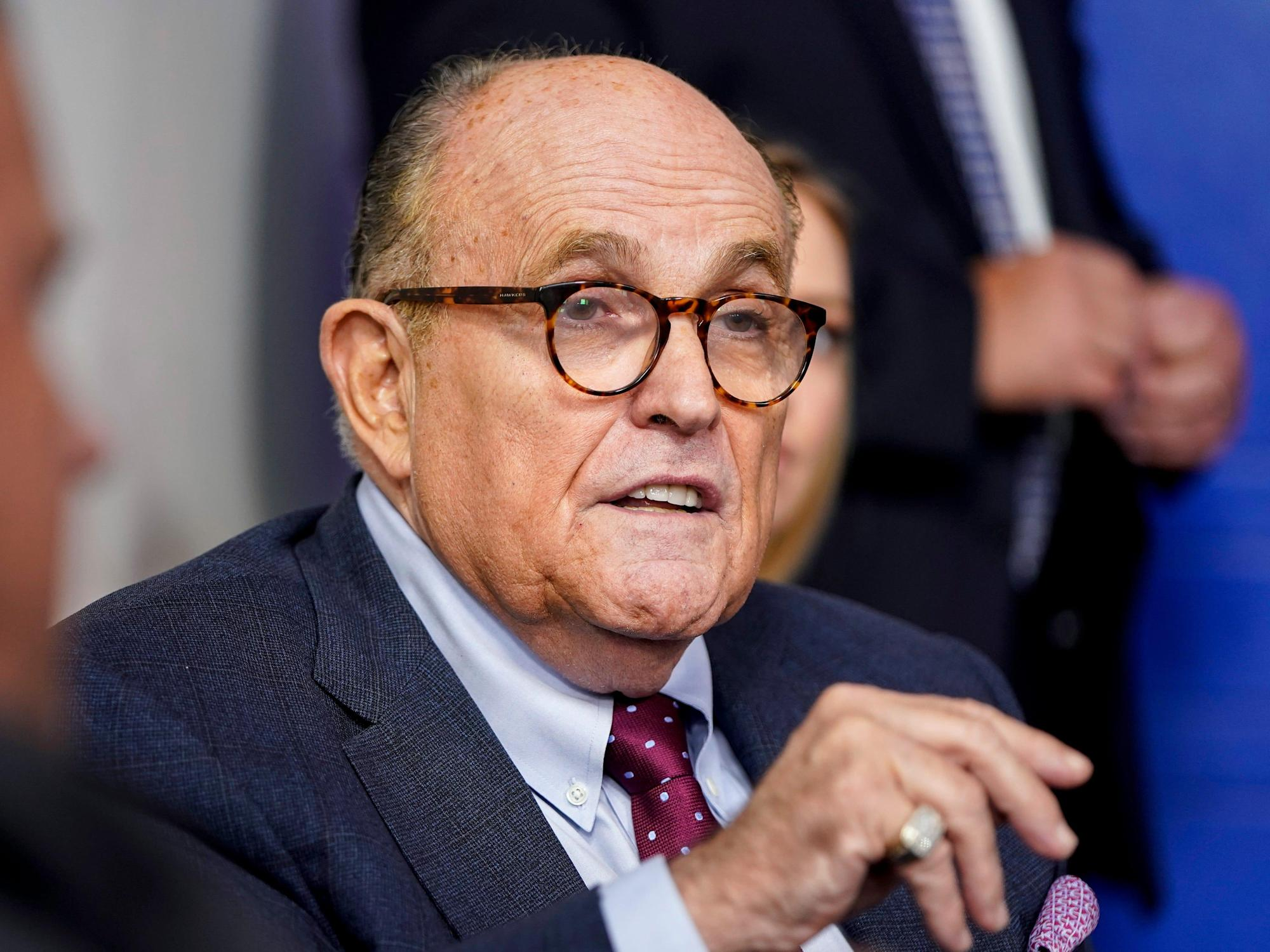 Rudy Giuliani said he is working on Trump's defense for the impeachment trial and that he's open to the president himself testifying, ABC News report says