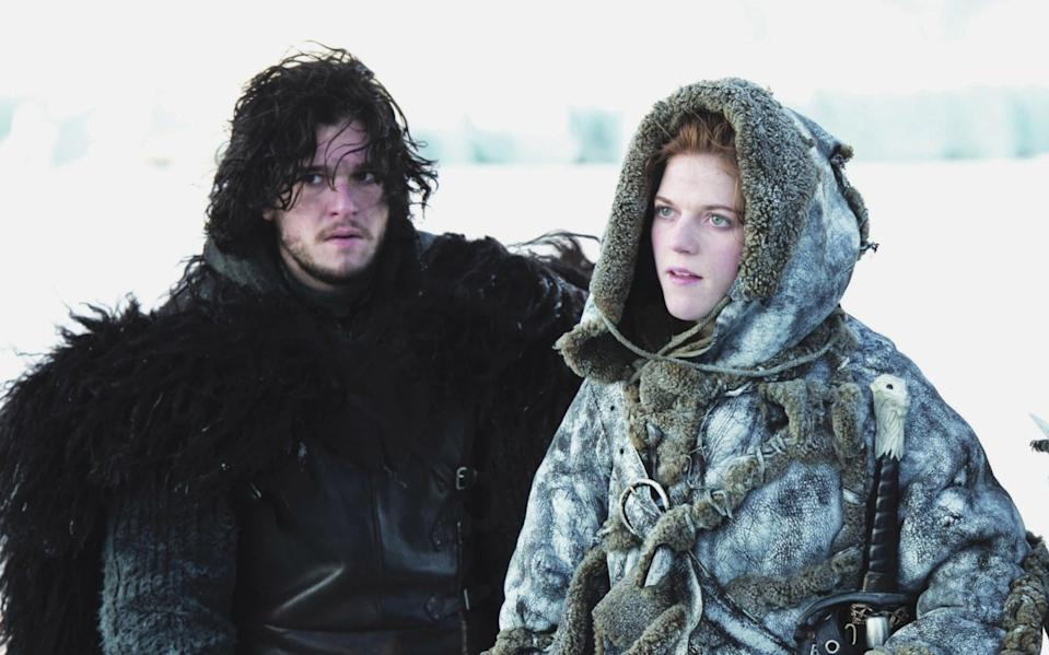 Rose played Jon Snow's love interest in Game of Thrones. Copyright: [HBO]