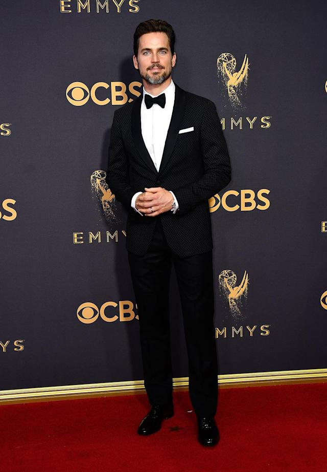 <p>Matt Bomer attends the 69th Annual Primetime Emmy Awards on September 17, 2017.<br> (Photo: Getty Images) </p>