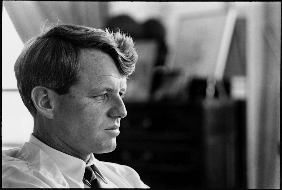 """<p>This docuseries uses never-before-seen archival footage during Robert F. Kennedy's time as Attorney General and Senator to explore his impact on American politics in the 1960s. The series also includes a look into Kennedy's presidential campaign, which tragically ended with his assassination in June 1968.</p> <p><a href=""""http://www.netflix.com/title/80174282"""" rel=""""nofollow noopener"""" class=""""link rapid-noclick-resp"""" target=""""_blank"""" data-ylk=""""slk:Watch Bobby Kennedy for President on Netflix"""">Watch <strong>Bobby Kennedy for President </strong>on Netflix</a>.</p>"""