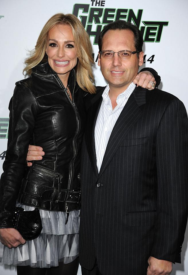 HOLLYWOOD, CA - JANUARY 10:  TV Personality Taylor Armstrong and husband Russell Armstrong arrive at Columbia Pictures' 'The Green Hornet' premiere at Graumans Chinese Theatre on January 10, 2011 in Hollywood, California.  (Photo by Jason Merritt/Getty Images) *** Local Caption *** Russell Armstrong;Taylor Armstrong