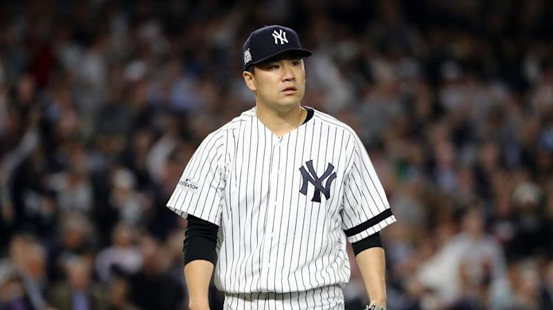 Masahiro Tanaka is staying with the Yankees through 2020 after exercising his contract option. (AP)