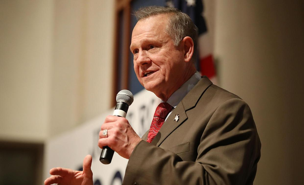 Former Alabama state Supreme Court Chief Justice Roy Moore. (Photo: Joe Raedle/Getty Images)