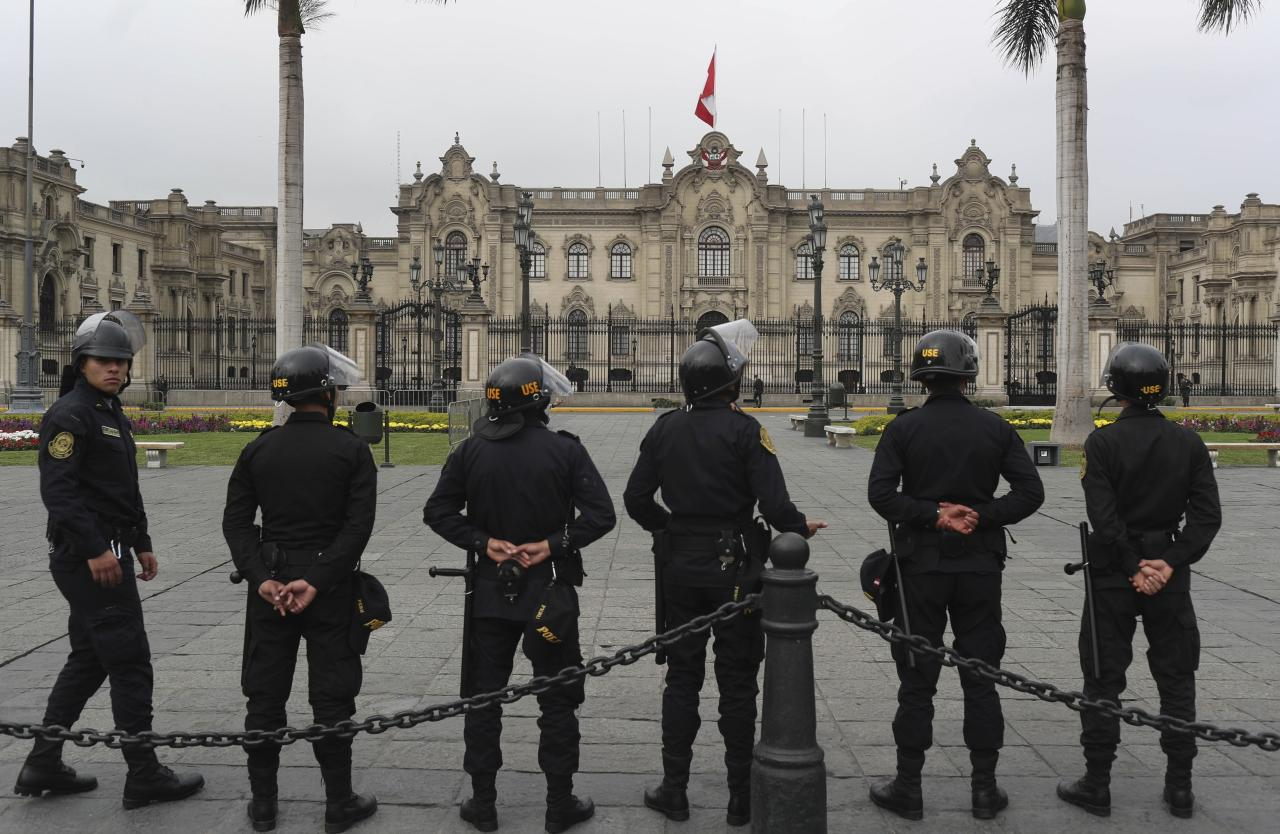Dark days for Peru's political dynasty after congress closes