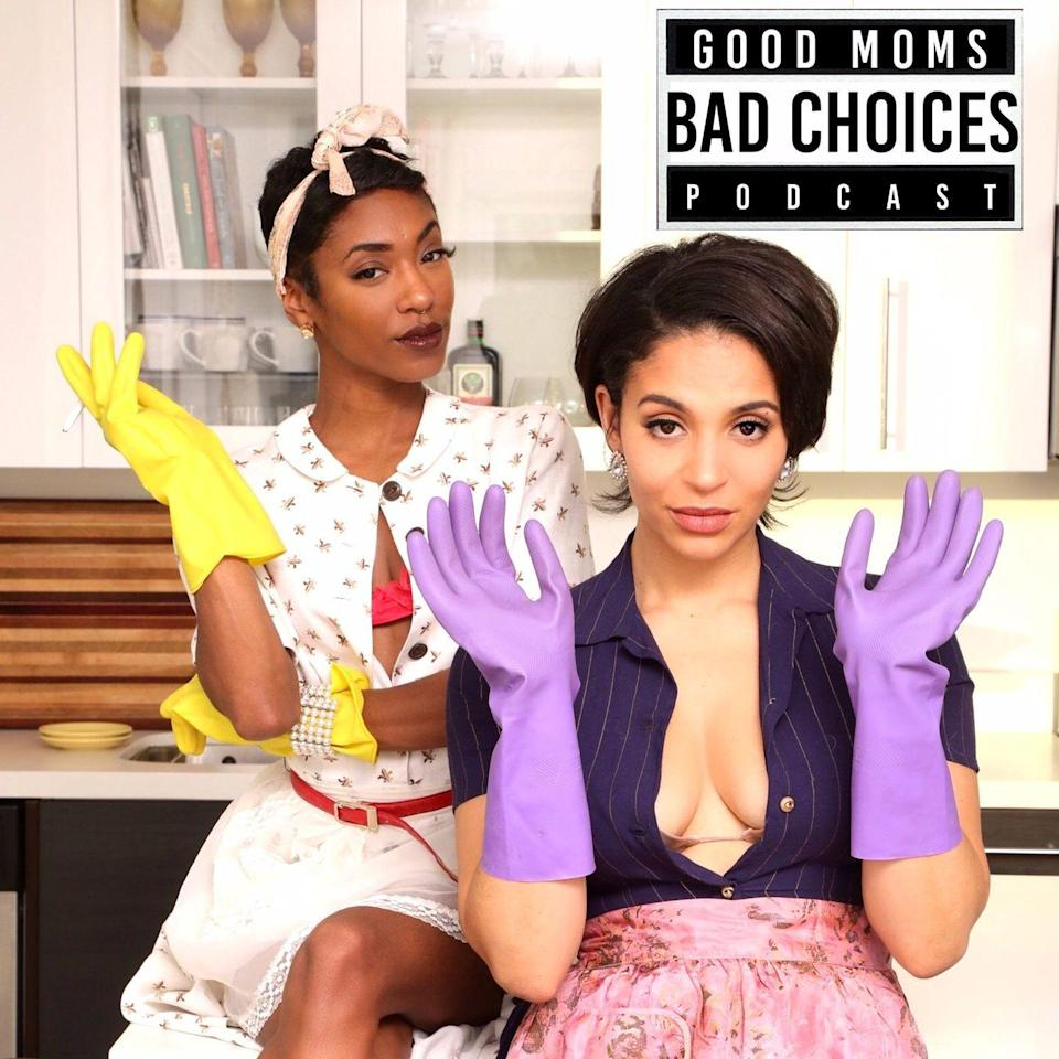 """<p>For raw and unfiltered parenting opinions, there's Erica and Milah, the self-described """"sex and cannabis positive"""" parents trying to change perceptions about single motherhood. With episodes titled """"Zoom School Sucks"""" and """"I Cheated,"""" this is for parents looking for something a little more R-rated.</p><p><a class=""""link rapid-noclick-resp"""" href=""""https://www.goodmomsbadchoices.com/"""" rel=""""nofollow noopener"""" target=""""_blank"""" data-ylk=""""slk:LISTEN NOW"""">LISTEN NOW</a></p>"""