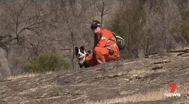 SES, police and volunteers had been searching for the 75-year-old. Picture: 7 News
