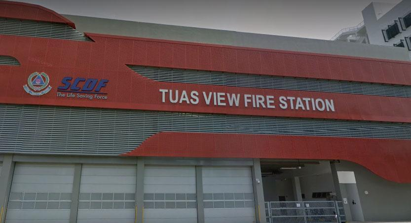 Photo of Tuas View Fire Station/Google Street View