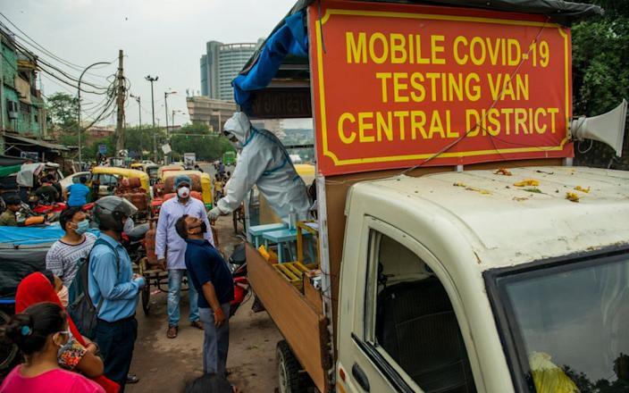 India has expanded testing significantly