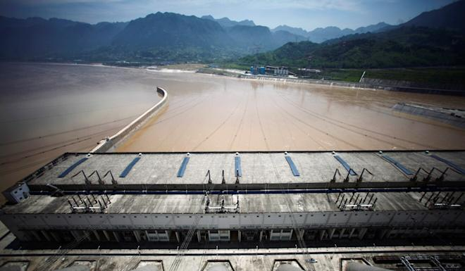 The controversial Three Gorges Dam in Yichang, Hubei is again under scrutiny. Photo: Reuters
