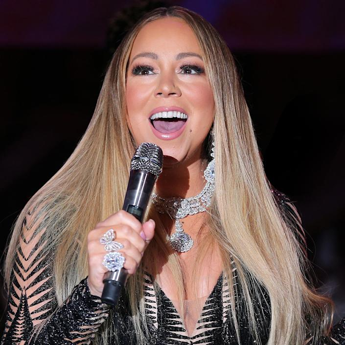 Mariah Carey in France in 2019 (Gisela Schober / Getty Images)