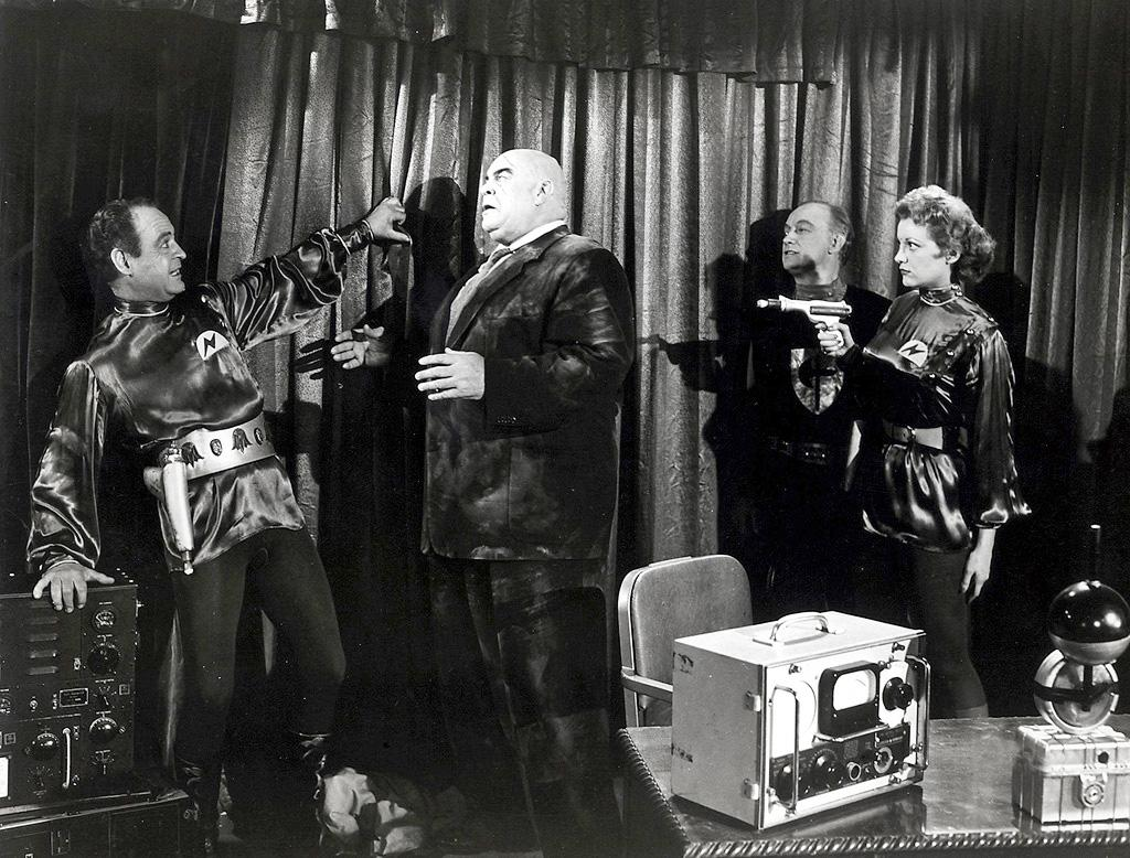 "<a href=""http://movies.yahoo.com/movie/1800365587/info"">PLAN 9 FROM OUTER SPACE</a> (1959)   The Orson Welles of awesomely bad filmmaking is indisputably Ed Wood and this flick is his ""Citizen Kane."" To criticize the staggering incompetence of ""Plan 9 From Outer Space"" is like ridiculing a child's drawing for not understanding perspective. Sure, the film features gasoline soaked paper plates posing as UFOs, ghouls terrorizing housewives in cardboard cemeteries, and talk of a bomb that makes sunlight explode, but Wood's vision is so earnest and pure that the ""Plan 9"" seems strangely wholesome. And it's no more frightening than your average episode of ""Mister Roger's Neighborhood."""