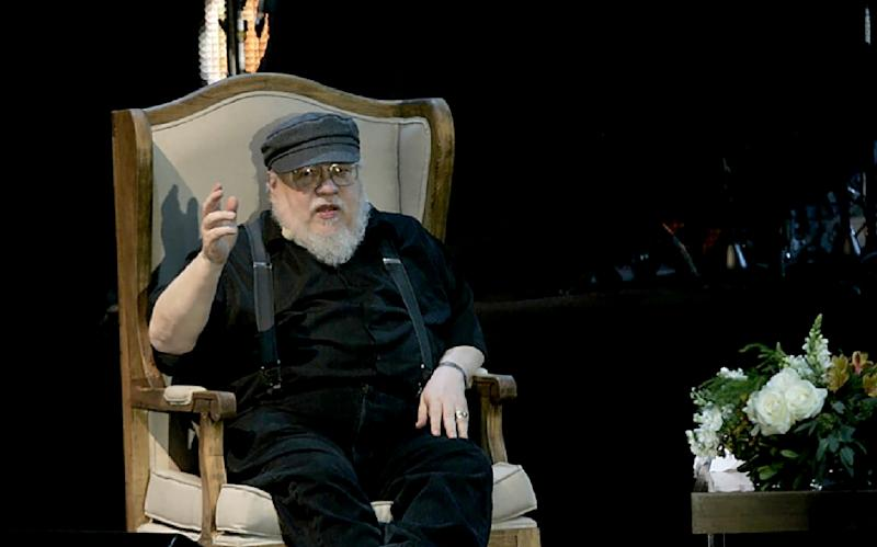 "George R.R. Martin, seen in 2016, is the author of ""Game of Thrones"" and the other books in the ""A Song of Fire and Ice"" series (AFP Photo/STR)"