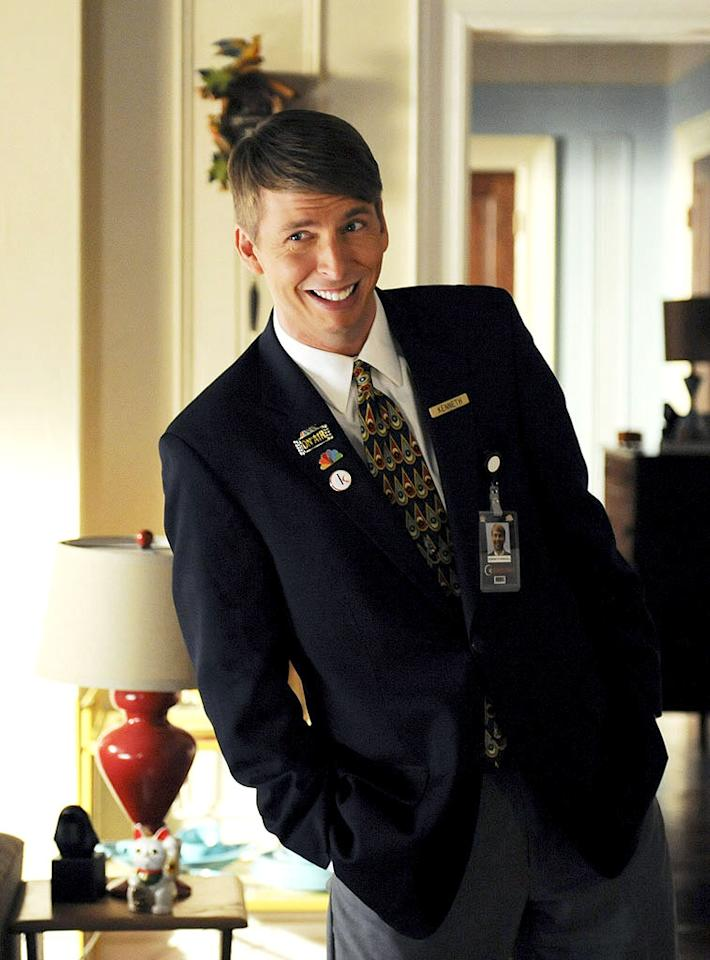 """<p class=""""MsoNormal""""><strong>Jack McBrayer (""""30 Rock""""), 38</strong></p>  <p class=""""MsoNormal""""><span style=""""color:#222222;"""">""""30 Rock</span><span style=""""color:#222222;"""">'s"""" loyal page, Kenneth Parcell, is so lovably nerdy and naive it's hard to believe that the actor who plays him, Emmy-nominated Jack McBrayer, is 38. Born on May 27, 1973, Jack has been in the biz for almost 20 years, a fact that gives serious credence to the whole """"laughter is the best medicine"""" theory.</span></p>"""