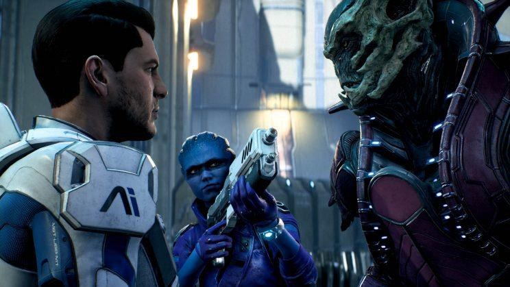 Mass Effect Andromeda's dialogue system